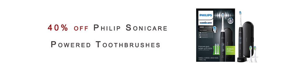 Philip Sonicare Powered Toothbrushes